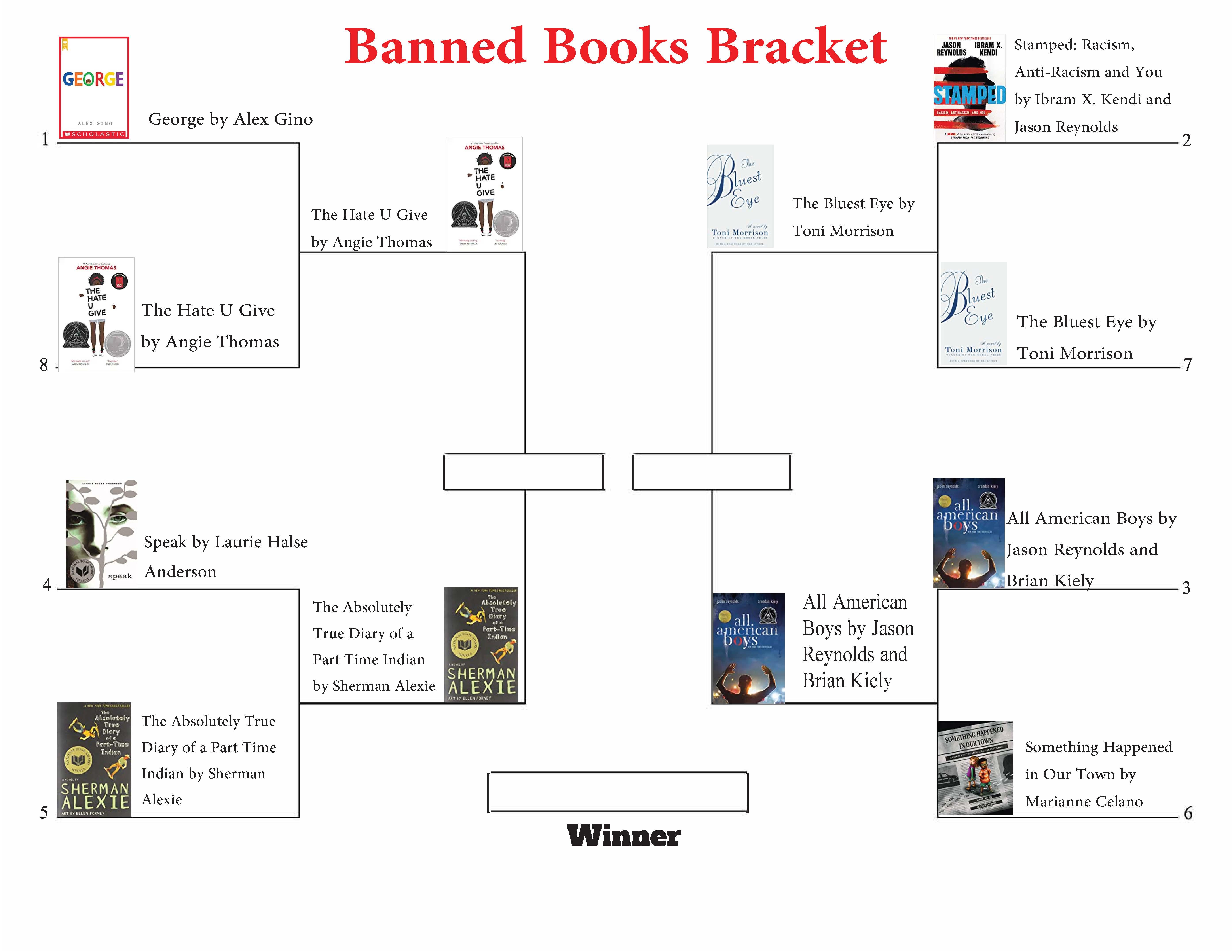 banned books bracket round 2