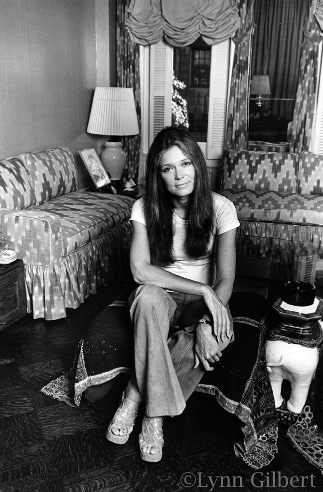 Gloria Steinem in 1977