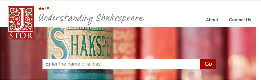 JSTOR Understanding Shakespeare