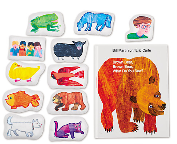 Brown bear, brown bear, what do you see? toy: storytelling kit