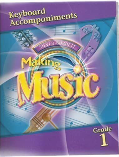 Silver Burdett making music: keyboard accompaniments, teacher's edition part 2