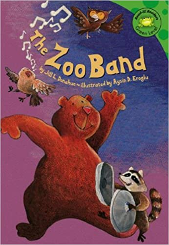 The zoo band by Jill L. Donahue; illustrated by Aysin D. Eroglu