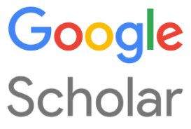 Google Scholar logo that takes users to website when clicked on