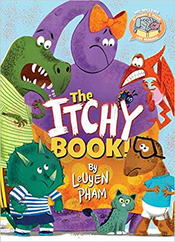 The Itchy Book Cover