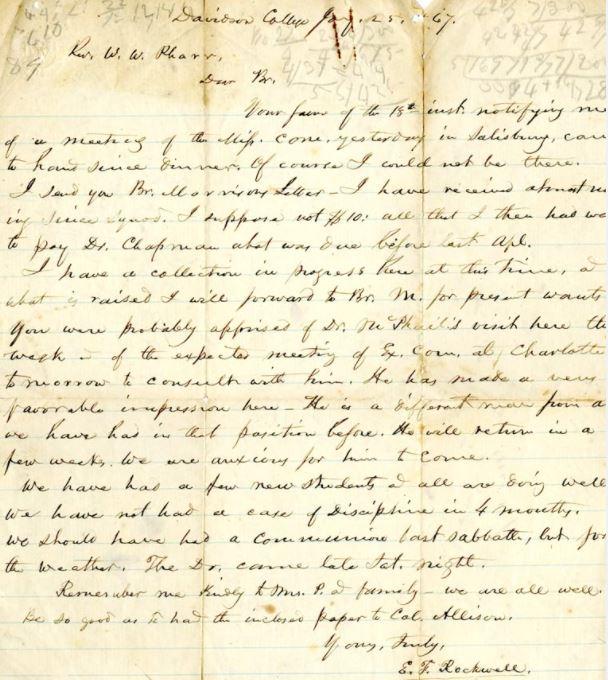 scan of elijah frink rockwell letter 1867