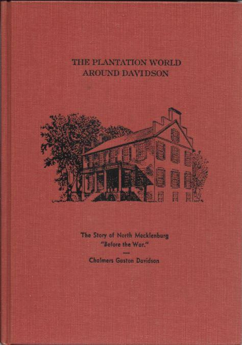 book cover of Plantation World Around Davidson
