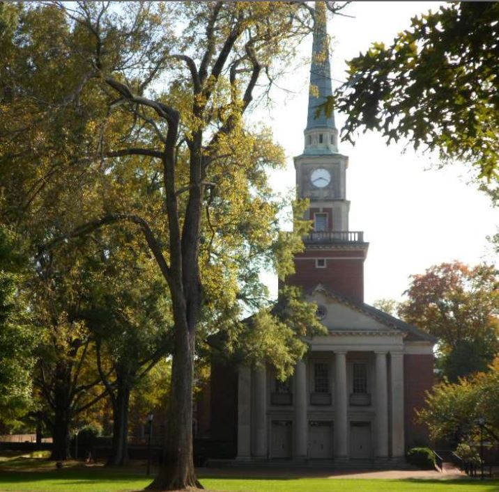 photo of the Davidson College Presbyterian Church