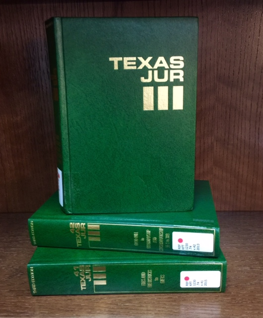 Texas Jurisprudence Books