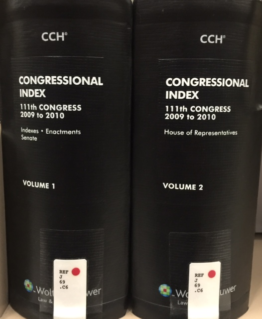Congressional Index books