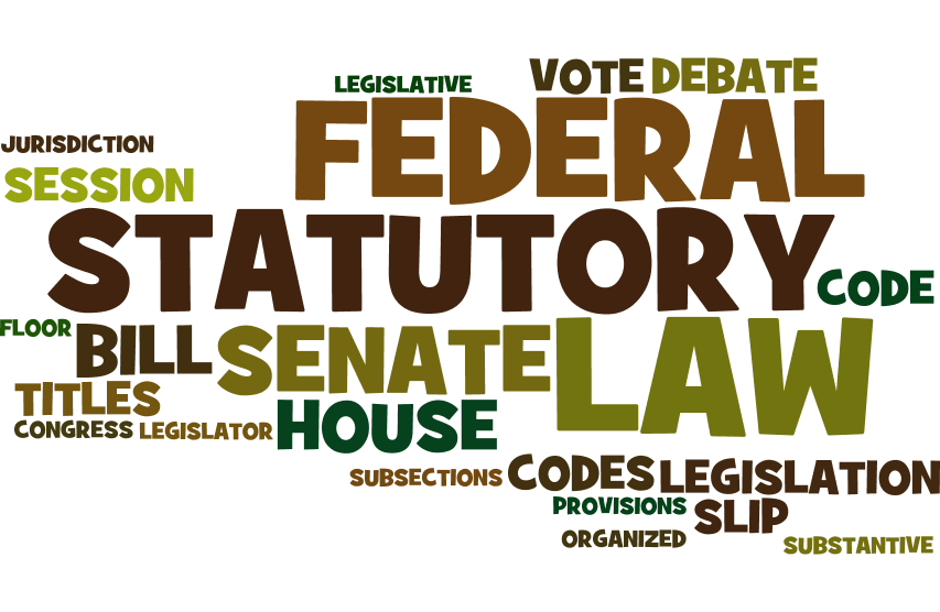 Federal Statutory Law Terms