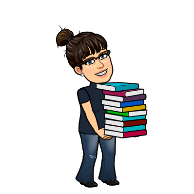 Mrs. Painter carrying books