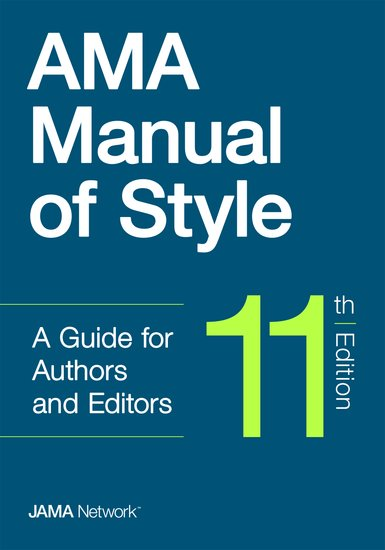 AMA Manual of Style 11th Edition
