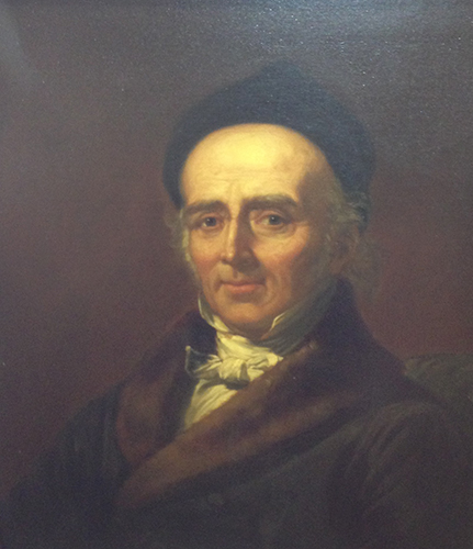 Portrait of Christian Friedrich Samuel Hahnemann, M.D.