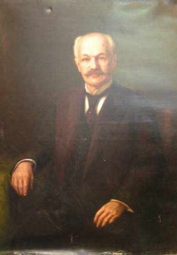 Portrait of Frank Boynton, M.D.