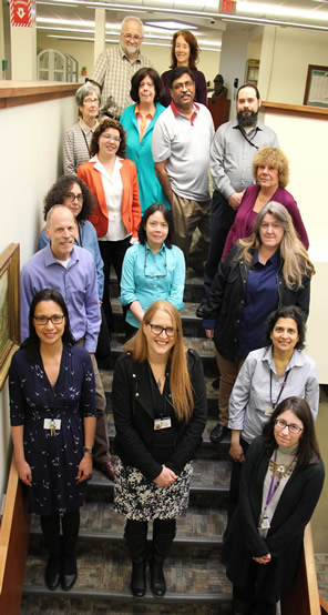 Health Sciences Library Staff 2018