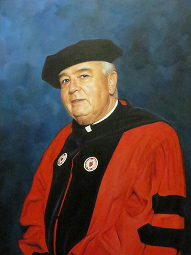 Portrait of Msgr. James Cassidy, Ph.D.