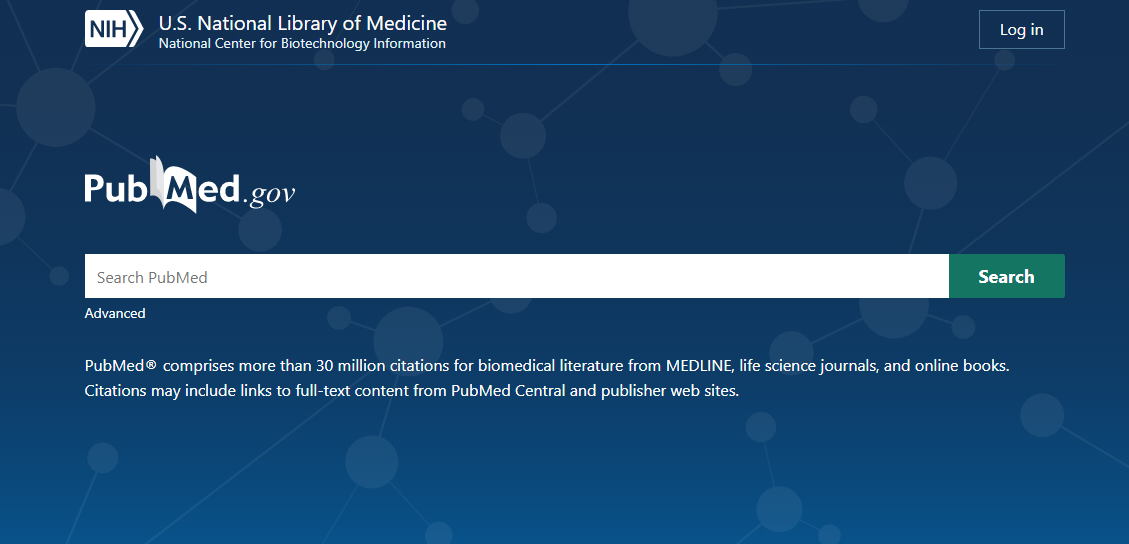 New PubMed Homepage