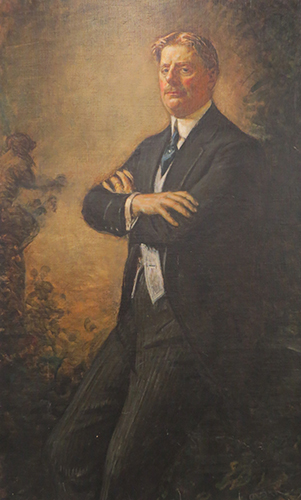 Portrait of Royal Copeland, M.D.