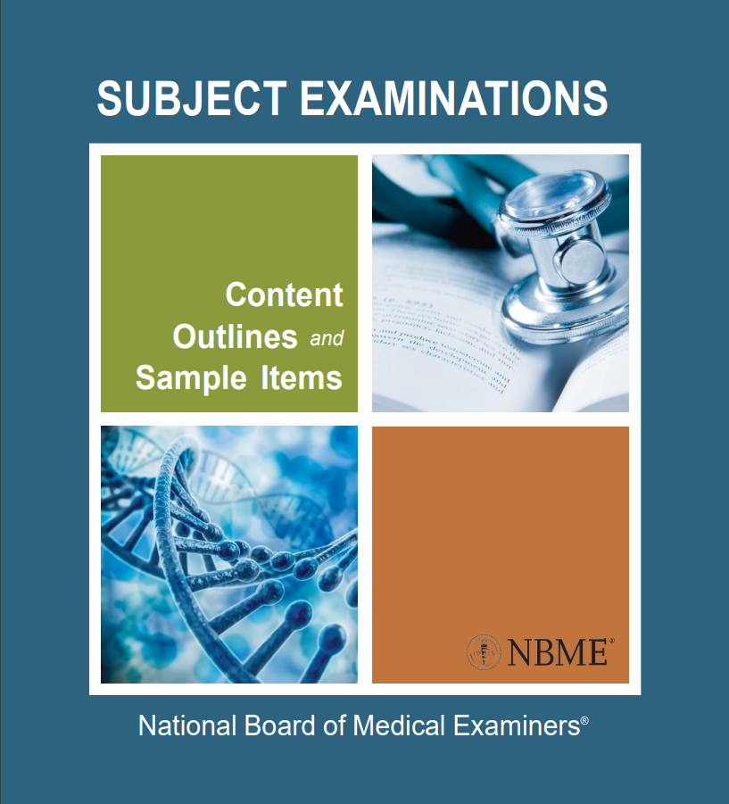 Sample Questions for NBME Subject Exams