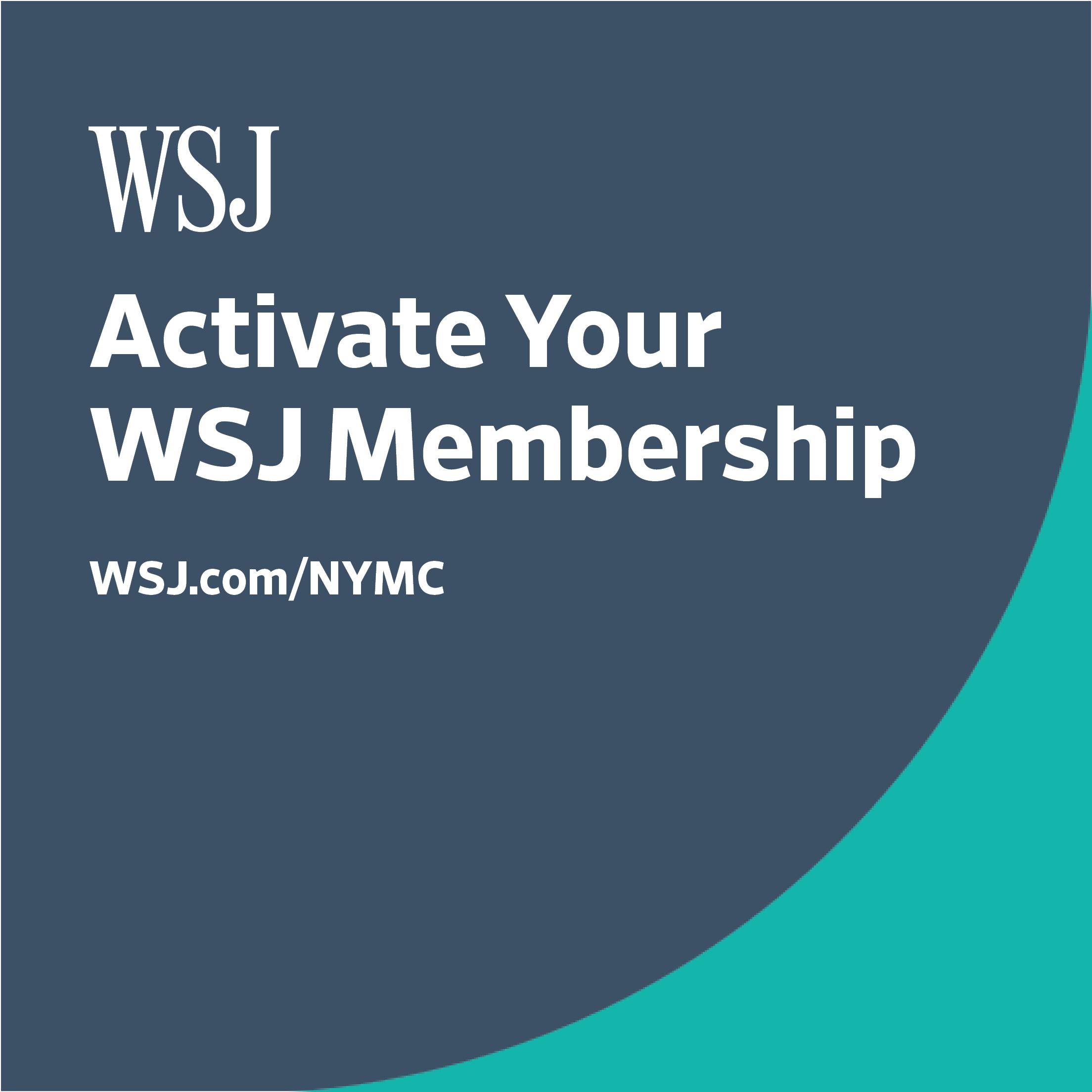 Wall Street Journal at NYMC