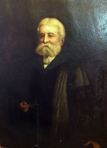 Portrait of William Helmuth, M.D., LL.D