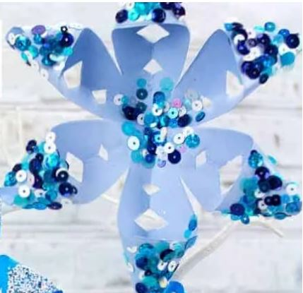 Get Crafty Together: 3D Snowflakes