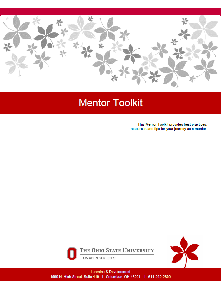 Ohio State HR Mentor Toolkit