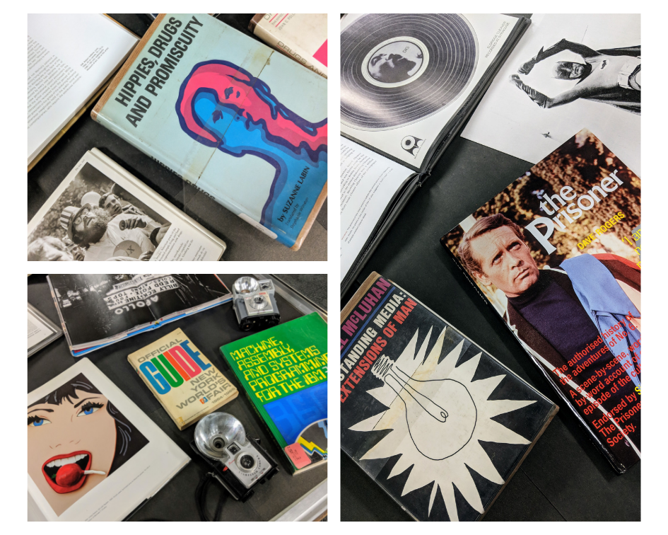 60s era books and objects