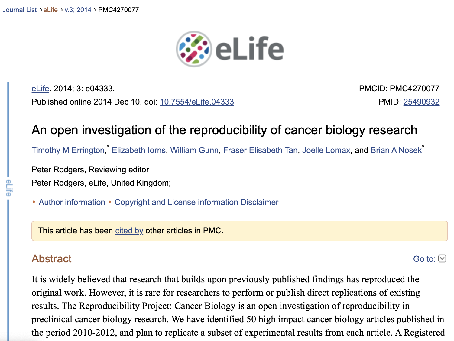 eLife_cancer_investigation-Reproducability