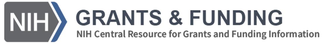 NIH Grants &Funding