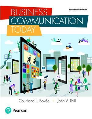 Cover of Business Communication Today