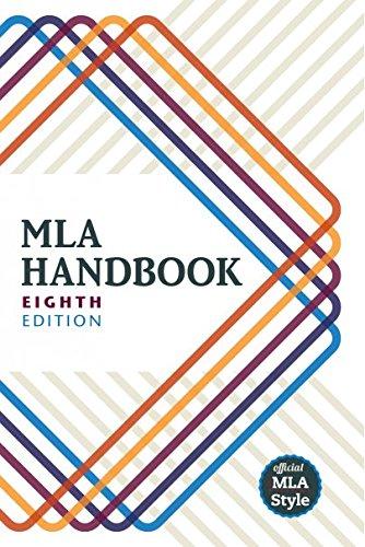 Cover of MLA Handbook: Eight Edition