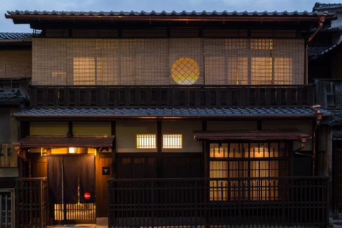 a traditional housing in Kyoto