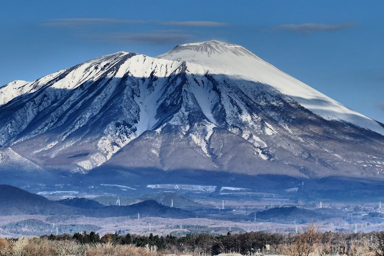 beautiful landscape of Mount Iwate