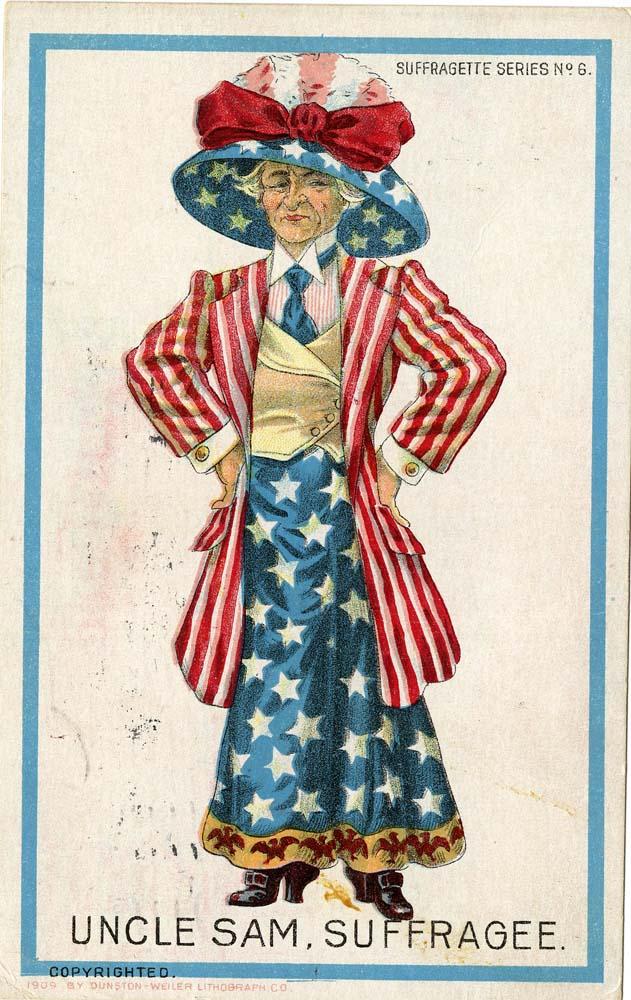 Women's suffrage cartoon