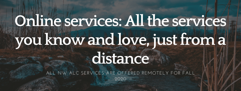 Online Services: All the services you know and love, just from a distance