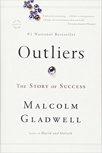 Cover image of Outliers: The Story of Success by Malcolm Gladwell