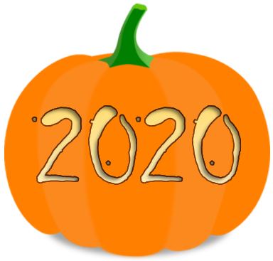Pumkin Carved with 2020