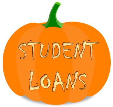 Pumpkin Carved with Student Loans