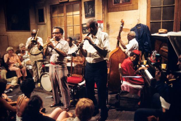 Jazz Musicians in New Orleans, Louisiana