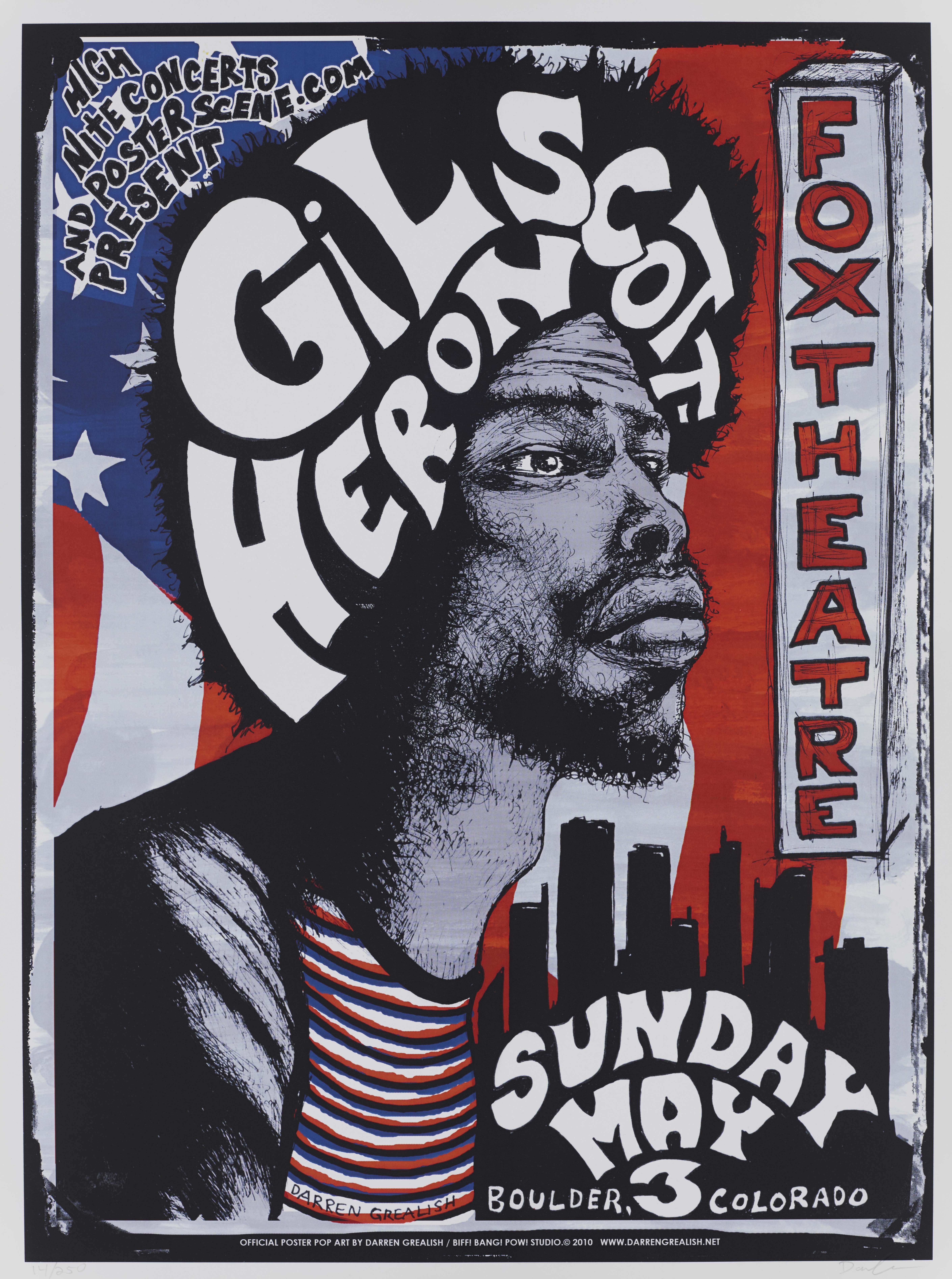 Gil Scott-Heron poster
