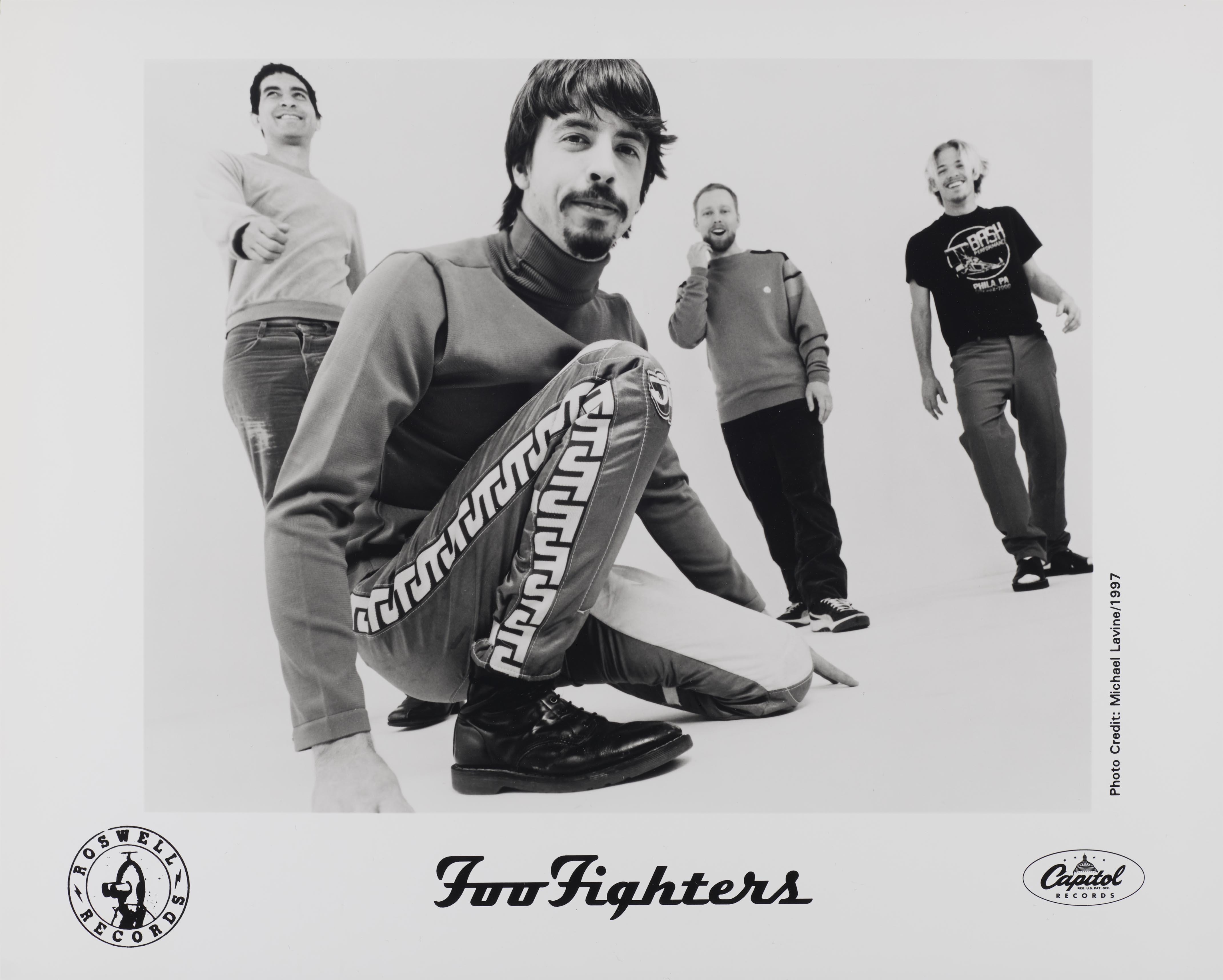 Foo Fighters promo photo, 1997