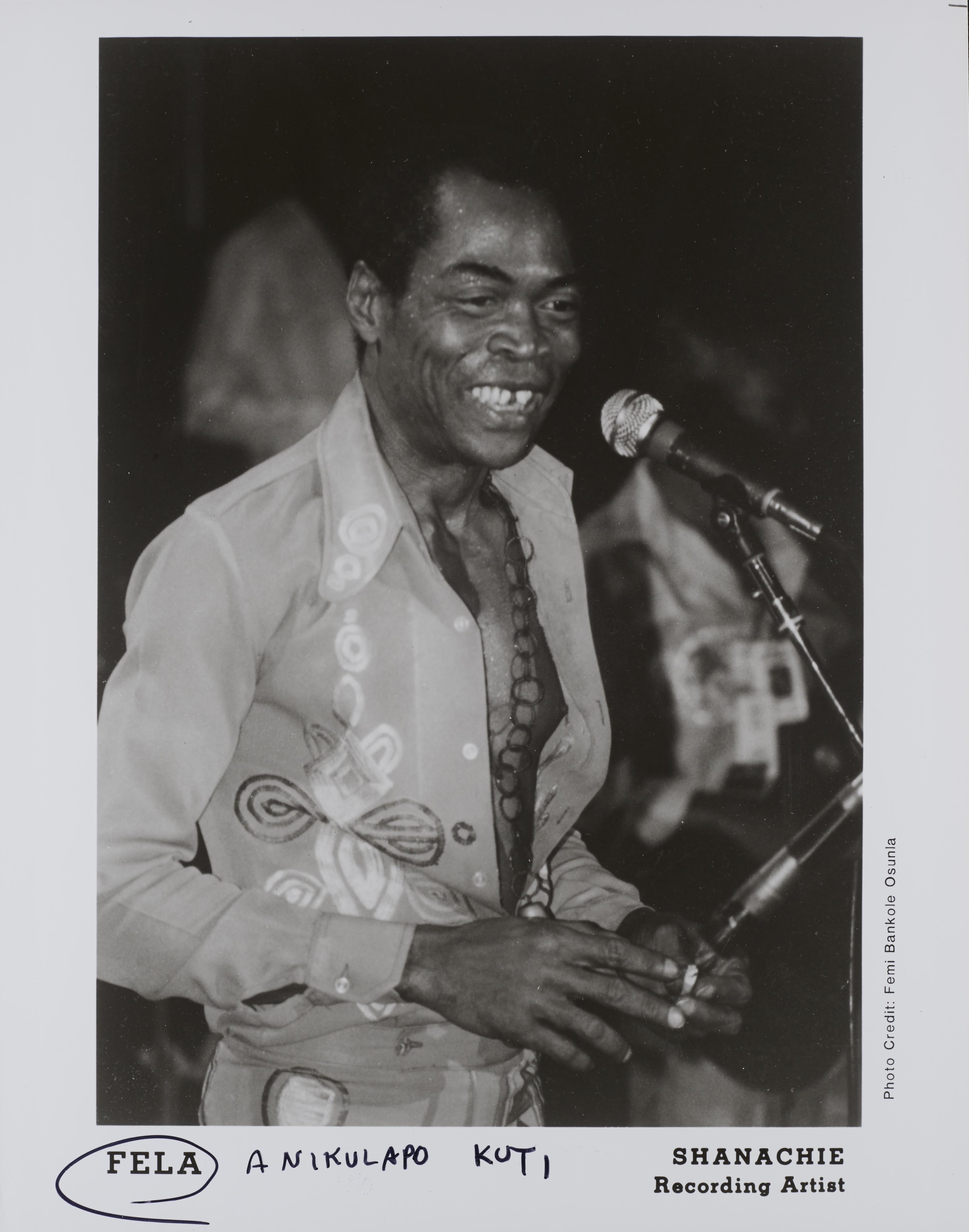 Fela Kuti promo photo