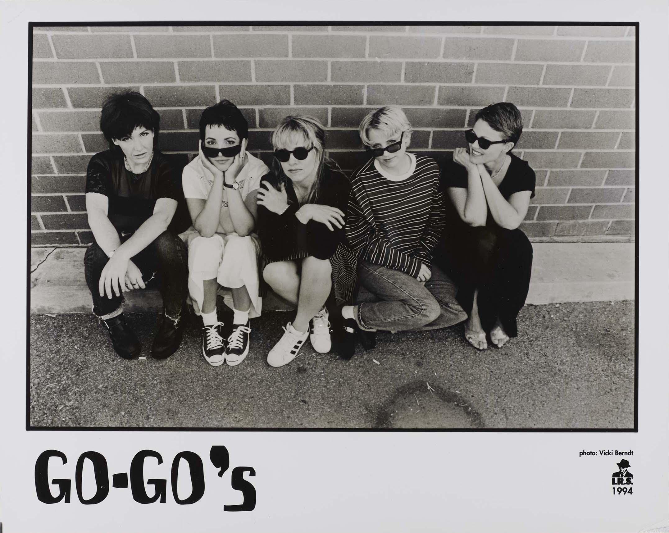 Go-Go's promo photo, 1994
