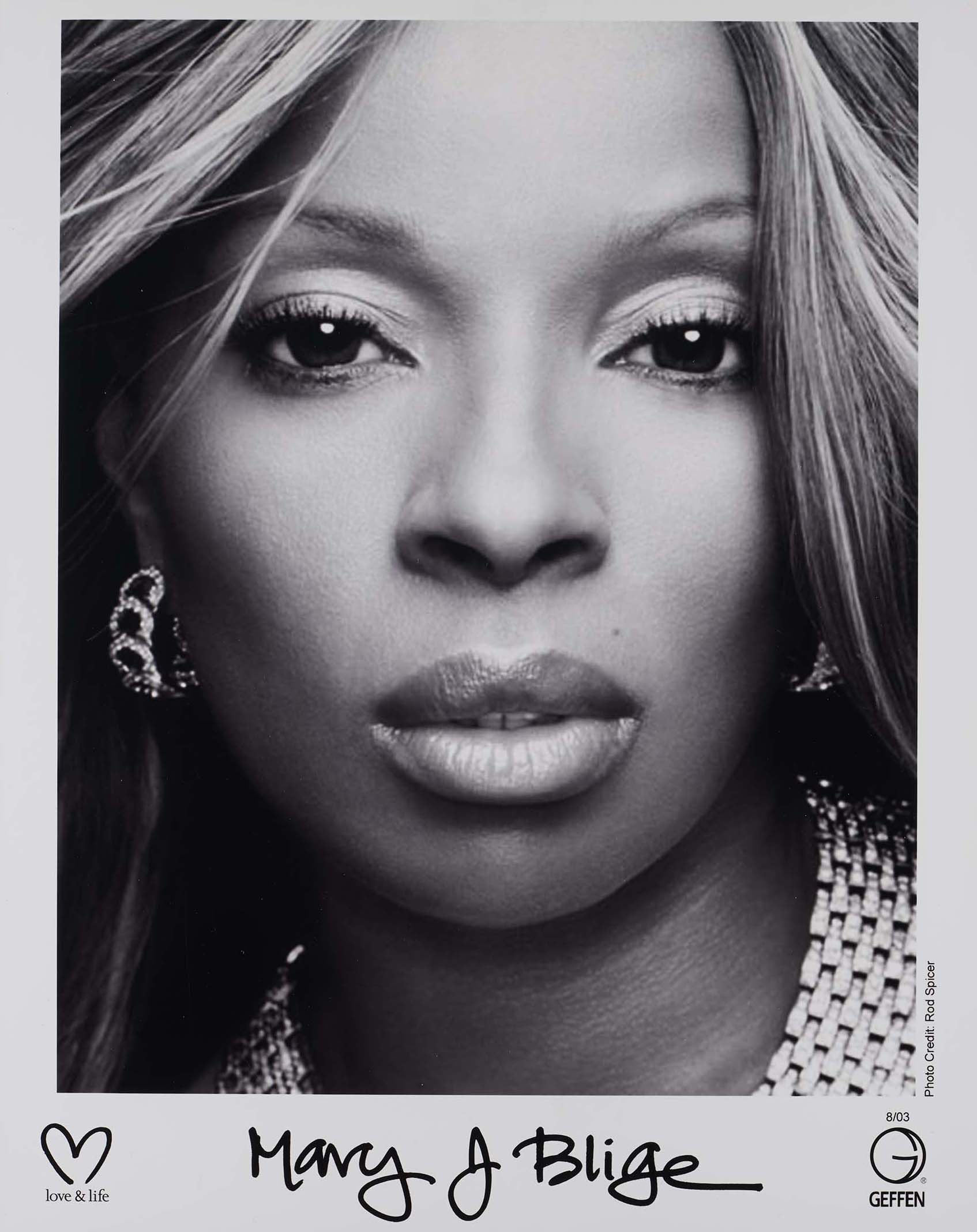 Mary J. Blige promo photo, 2003