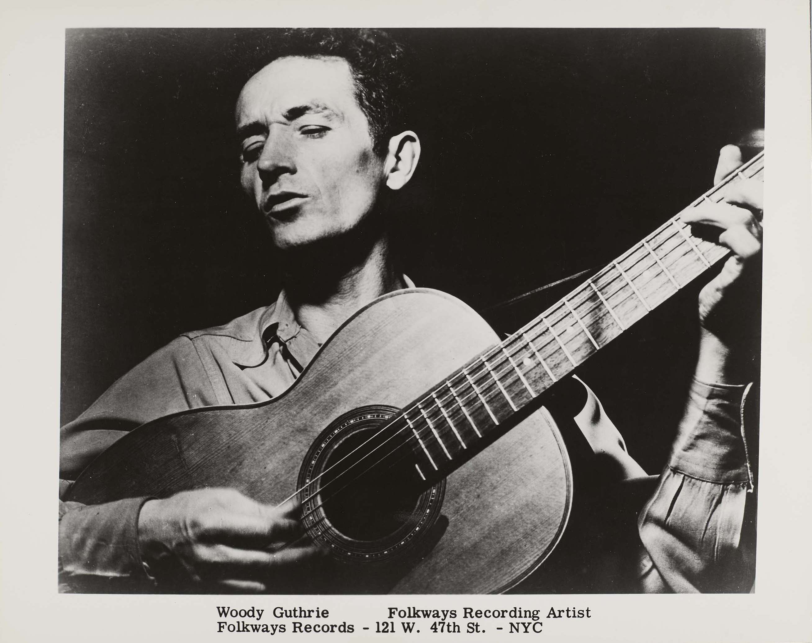 Woody Guthrie promo