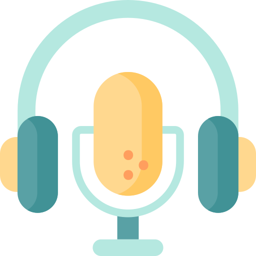 a microphone and headset