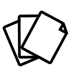 icon depicting pages of paper