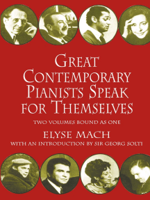 Great Pianists Speak for Themselves Cover Art