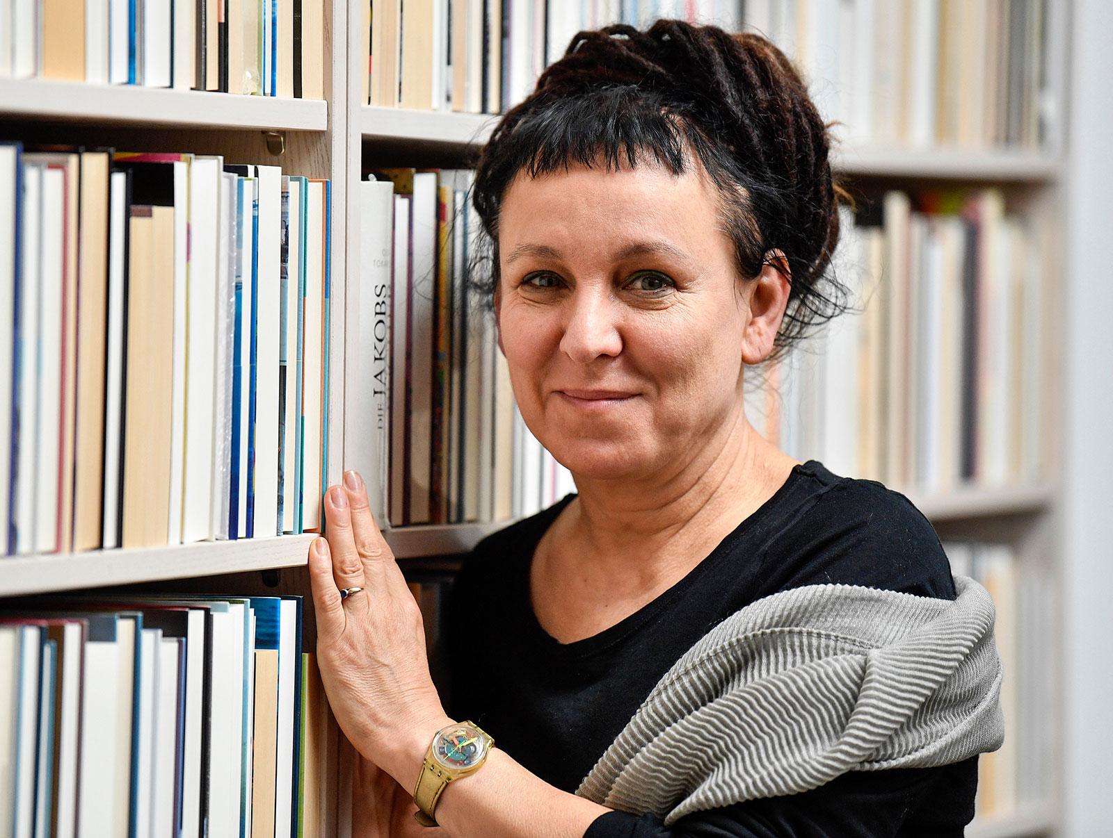 Headshot of Olga Tokarczuk